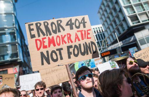 EU-Abgeordneten wüst beleidigt: Schüler wird verurteilt