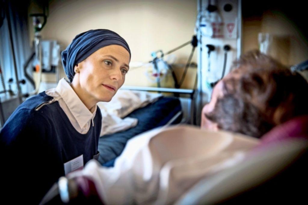 Aysel Özdemir  ist mittwochs für die muslimischen Patienten da. Foto: Lichtgut/Achim Zweygarth
