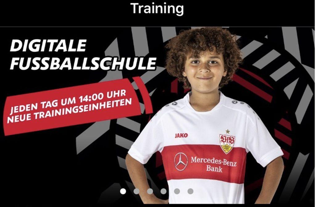 Die VfB-App richtet sich an Jugendliche und  Kinder ab vier Jahren Foto: Trickkiste