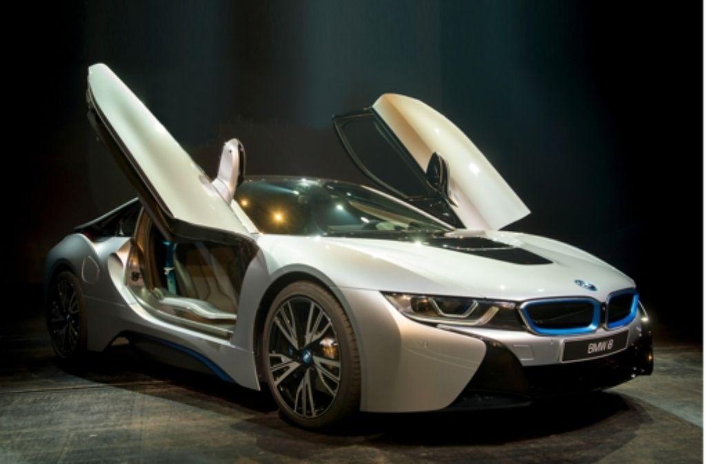 Deutsche Hersteller bringen immer mehr Autos mit alternativen Antrieben auf den Mark. Unser Bild zeigt den BMW i8. Foto: Getty, Thomas Imo