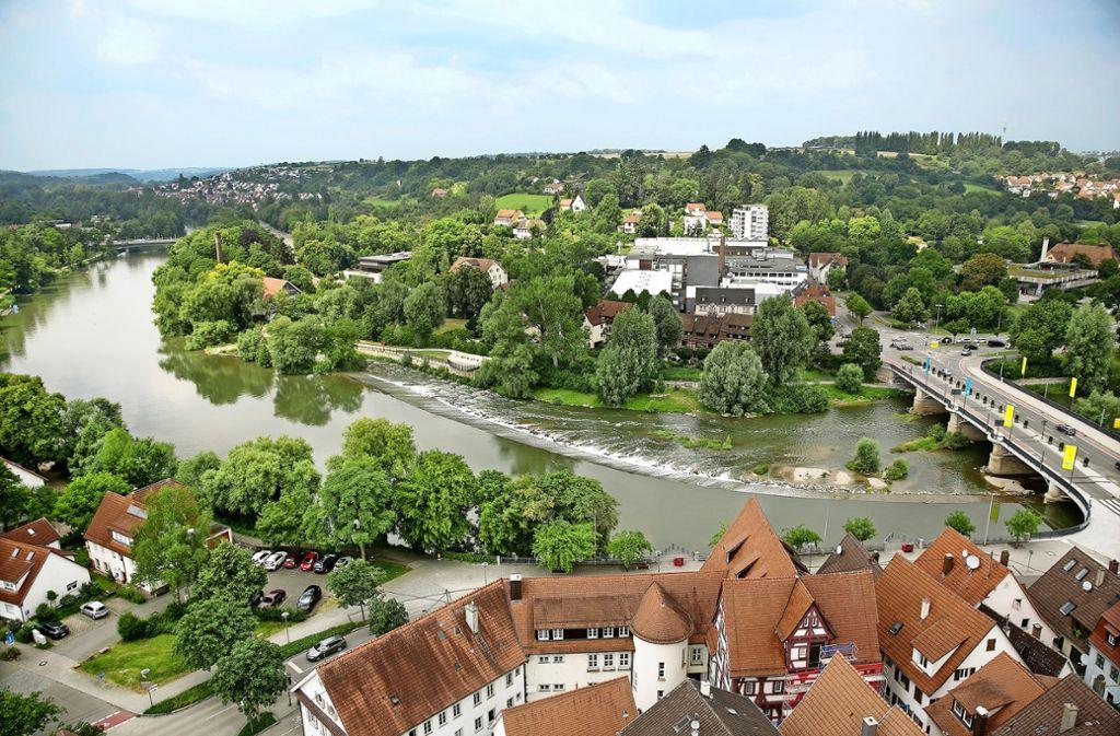 Der Neckar wird einen Schwerpunkt im Bewerbungskonzept spielen. Der Fluss soll erlebbarer als bisher werden. Foto: Horst Rudel/Archiv