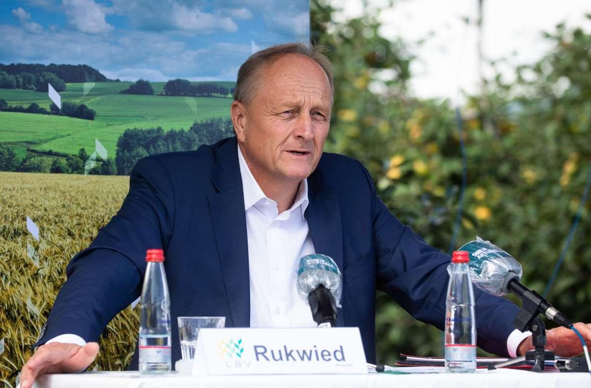 Der Präsident des Landesbauernverbands Joachim Rukwied sorgt sich um die Zukunft der Landwirtschaft in Baden-Württemberg. Foto: dpa/Christoph Schmidt