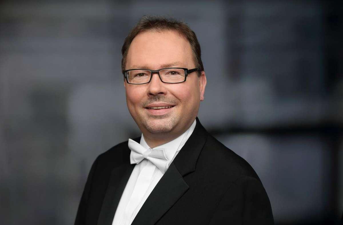 Kai Müller ist ein bekannter Chorleiter in der Region Stuttgart. Foto: Chorgemeinschaft Schmiden