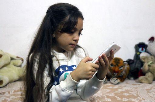 Gute Nachrichten über Siebenjährige aus Aleppo