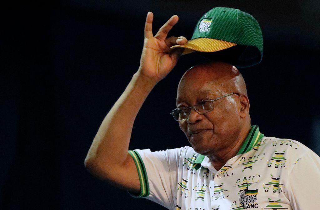 Jacob Zuma erweist sich auch in hohem Alter noch als äußerst vital. Foto: AP