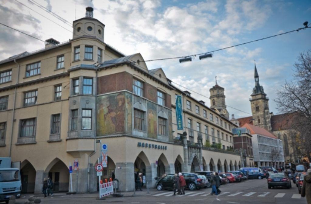 """Als """"Nahrungsmittelbörse"""" bezeichnete der Architekt Martin Elsässer die Markthalle bei der Eröffnung 1914. Foto: Philipp Weingand"""