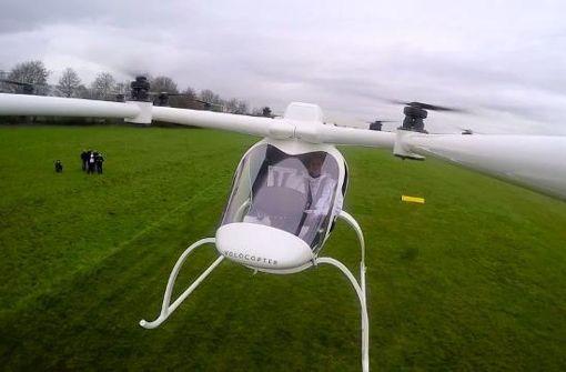 Wird dieses Flugtaxi bald in Großstädten zum Einsatz kommen?