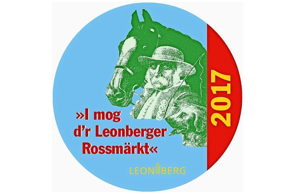 So sieht der Anstecker in diesem Jahr aus. Foto: Stadt Leonberg
