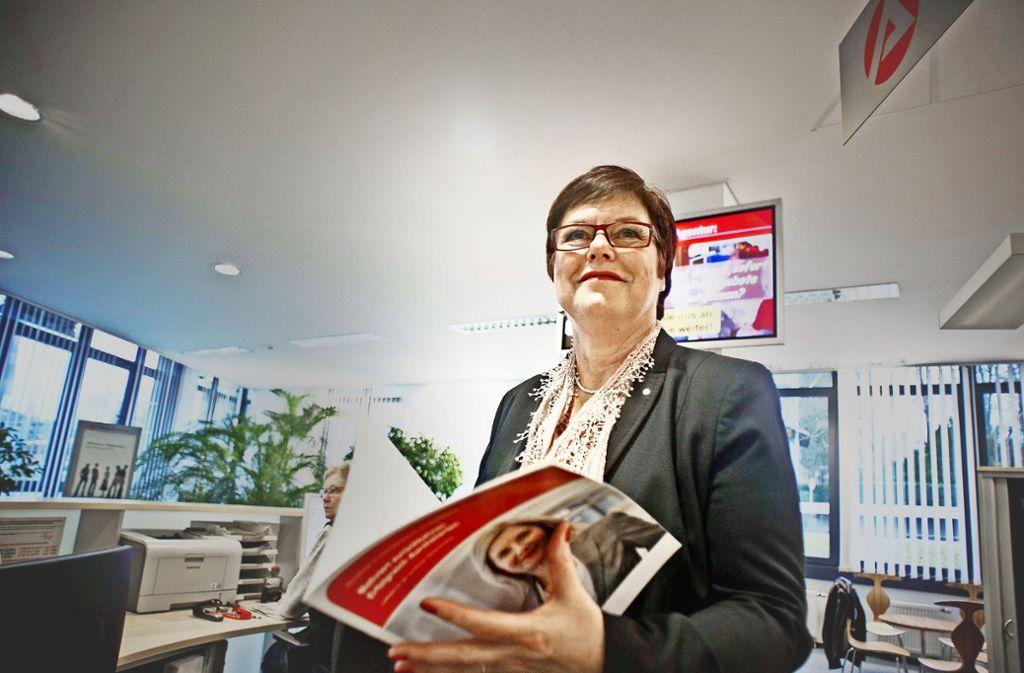 Seit 2012 hat sie die Arbeitsagentur Stuttgart geleitet. Jetzt geht Petra Cravaack in den Ruhestand. Foto: Lichtgut/Max Kovalenko