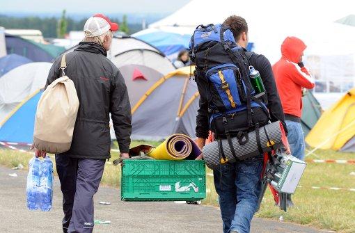 Gut gepackt fürs Festival