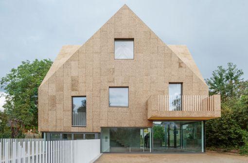 Außergewöhnliches Architektenhaus aus Kork