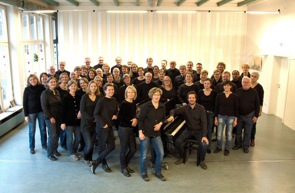 Das Esslinger Vocalensemble freut sich auf das Konzert am Sonntag. Foto: privat