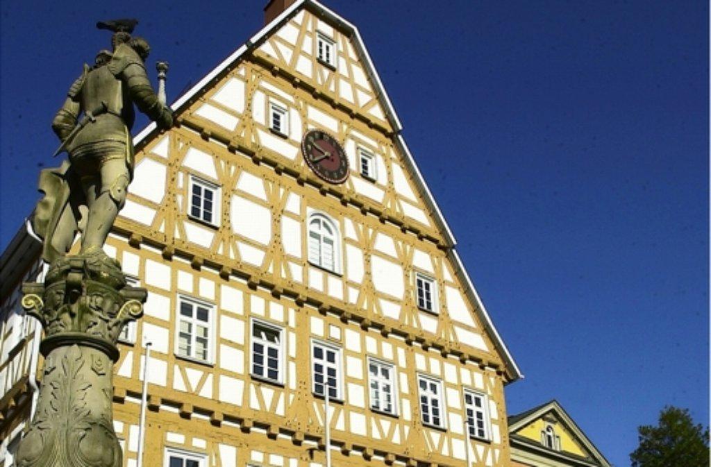 Leonberg Ein Aufzug In Der Stadtmauer Als Optischer Höhepunkt