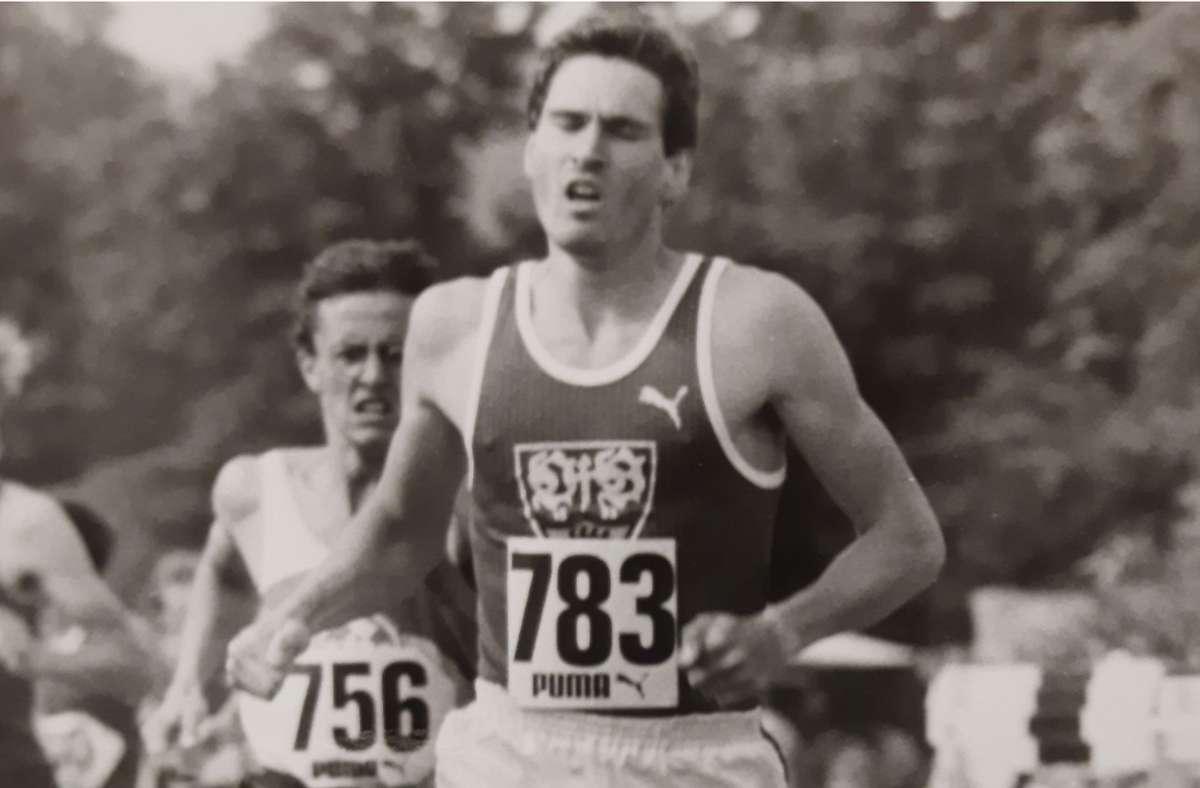 Im Trikot des VfB Stuttgart sicherte sich Andreas Baranski mehrere deutsche Meistertitel. Der Höhepunkt Olympische Spiele wurde ihm 1980 aber genommen. Foto: privat/z