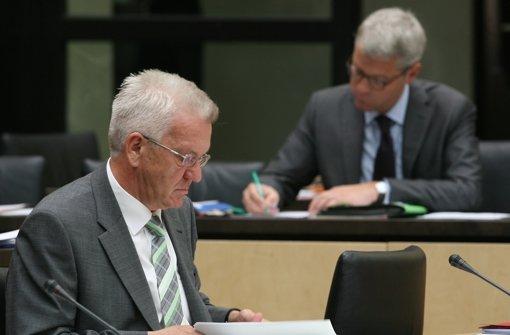 Kretschmann bedauert Rauswurf