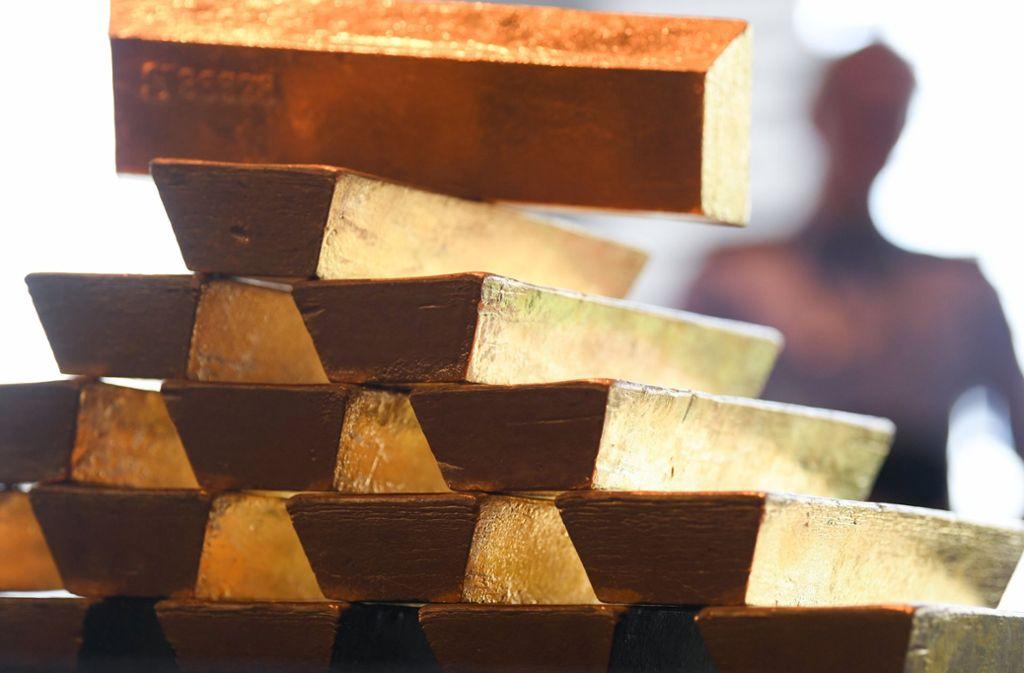 Die Polizei kennt immer noch nicht die Lösung des Goldrätsels vom Spielplatz im Stuttgarter Westen. Foto: dpa (Symbolbild)