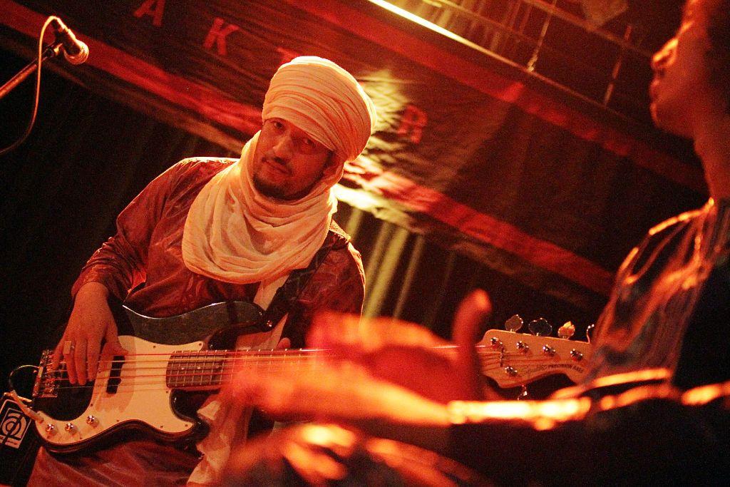 Tamikrest beim Konzert in der Manufaktur Stuttgart Foto: Jan Georg Plavec