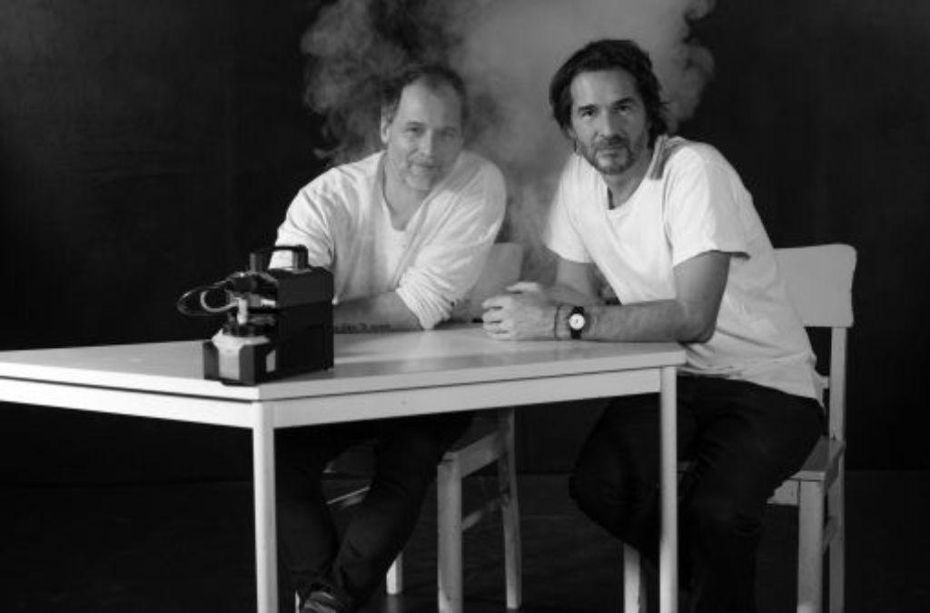 Tiefschwarz heute: Sebastian (links) und Alexander Schwarz. Foto: Axl Jansen