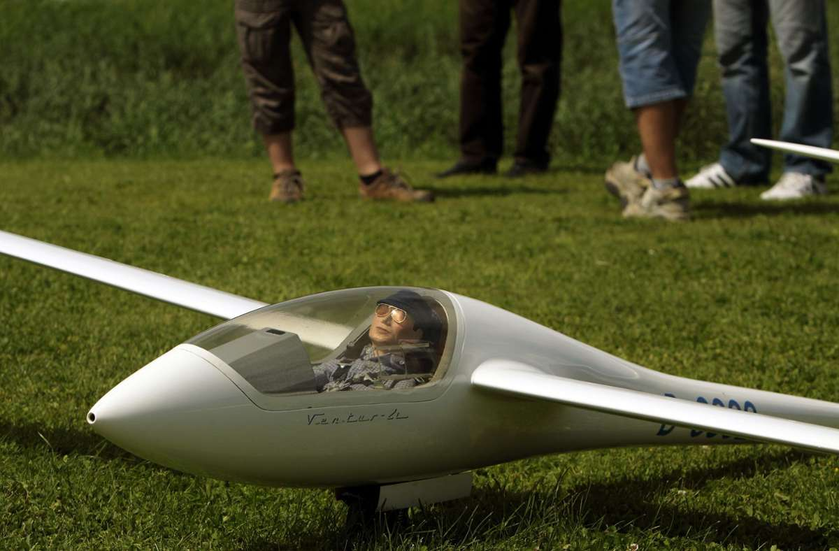 Das abgestürzte Modell war ein ferngesteuerter Segelflieger (Symbolbild, anderes Modell) Foto: FACTUM-WEISE
