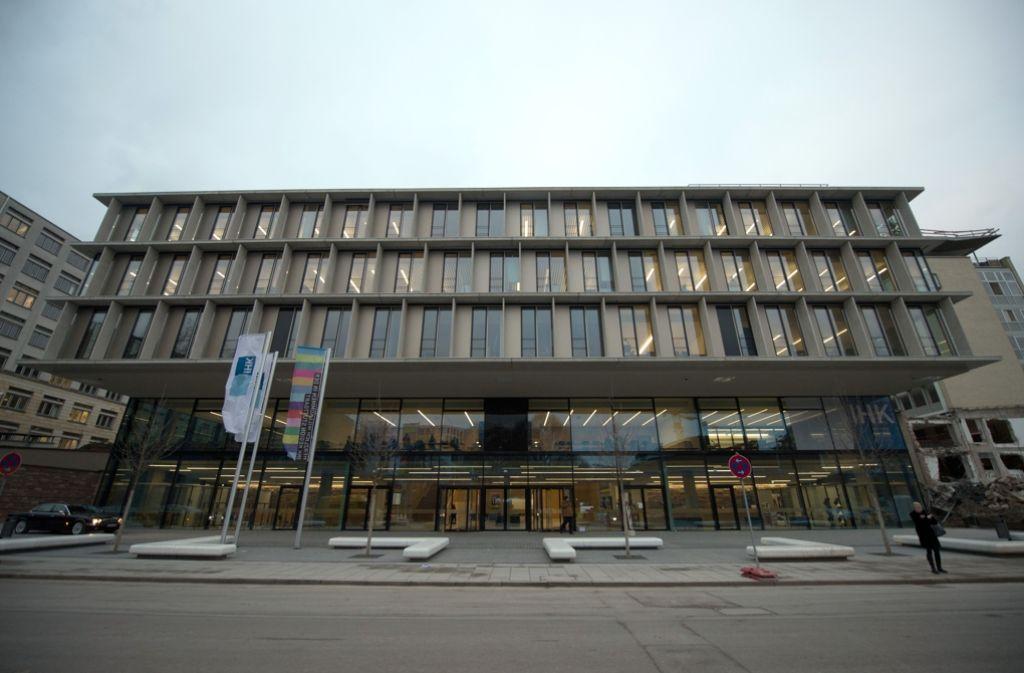 Das Gebäude der IHK in Stuttgart. Foto: dpa