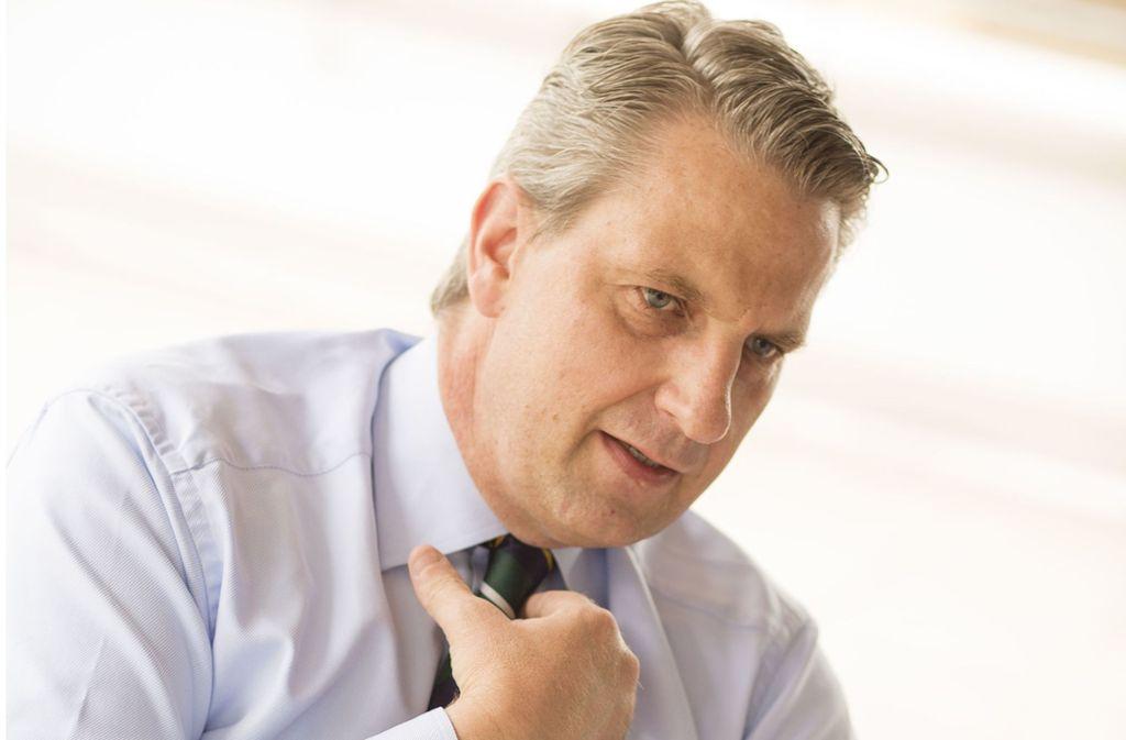 Ulrich Wecker, der Geschäftsführer von Haus und Grund in Stuttgart, dringt auf eine Kurskorrektur in der Baupolitik. Foto: Lichtgut/Leif Piechowski