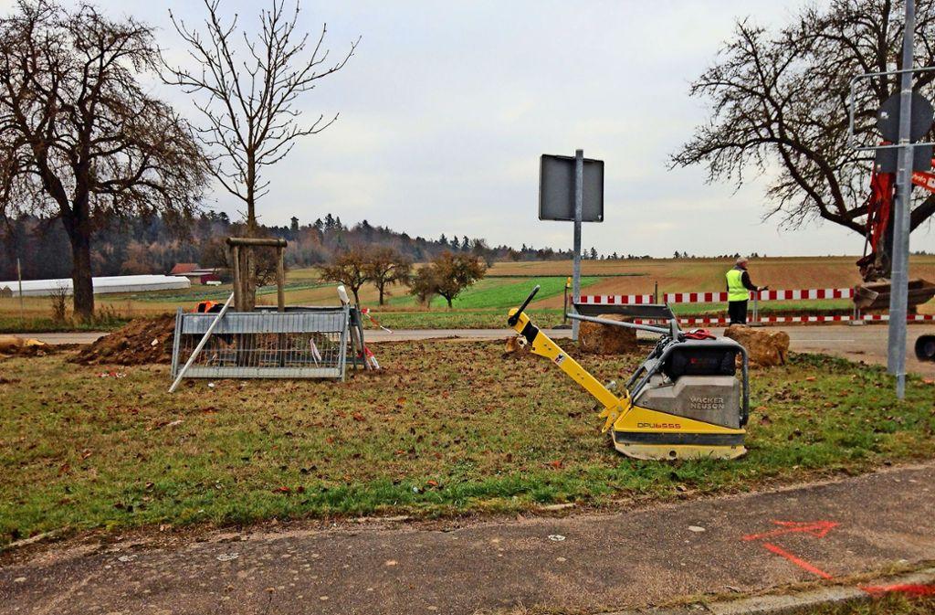 Die neuen Haltestellen an der  Heimsheimer Straßen sollen  die Wege für die   verkürzen, die  im Perouser Westen wohnen. Foto: Stadtverwaltung