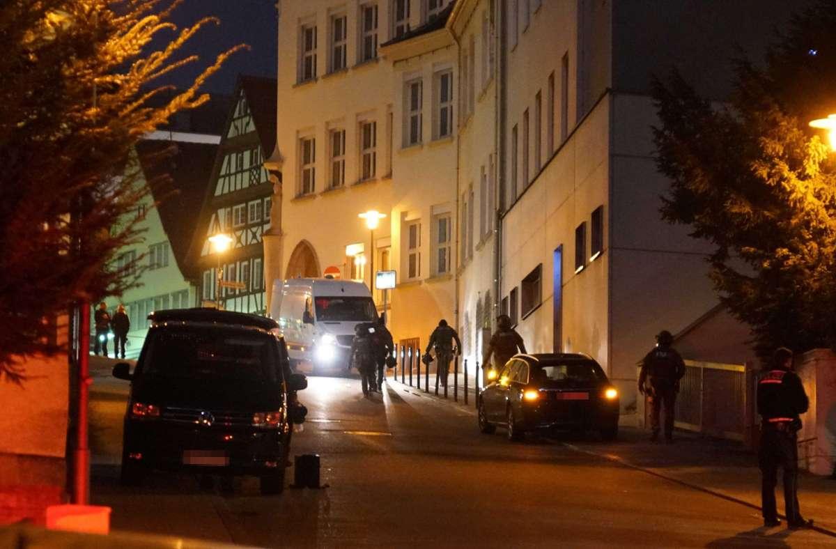 In der Nürtinger Innenstadt kommt es Anfang Februar zur ersten blutigen Attacke. Foto: SDMG// Kohls