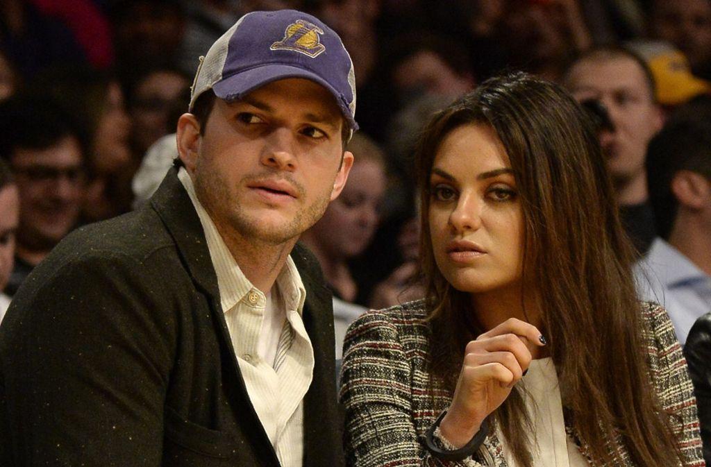 Das Glamour-Schauspielerpaar Ashton Kutcher und Mila Kunis ist seit 2015 verheiratet und hat zwei Kinder. Foto: dpa