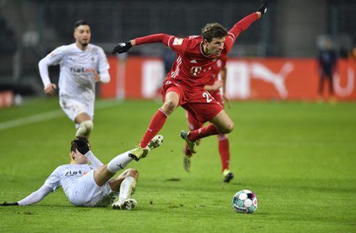 Mönchengladbach bringt Bayern zweite Saisonniederlage bei