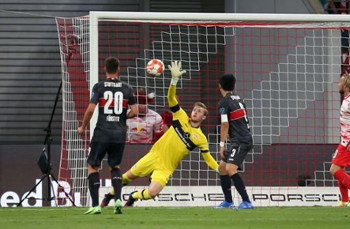 Bei RB Leipzig kommen Florian Müller und Co. unter die Räder