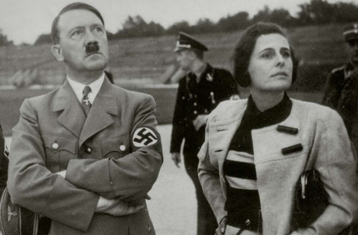 Führer und  Filmerin: Adolf Hitler und Leni Riefenstahl Foto: NARA/Heinrich Hoffmann