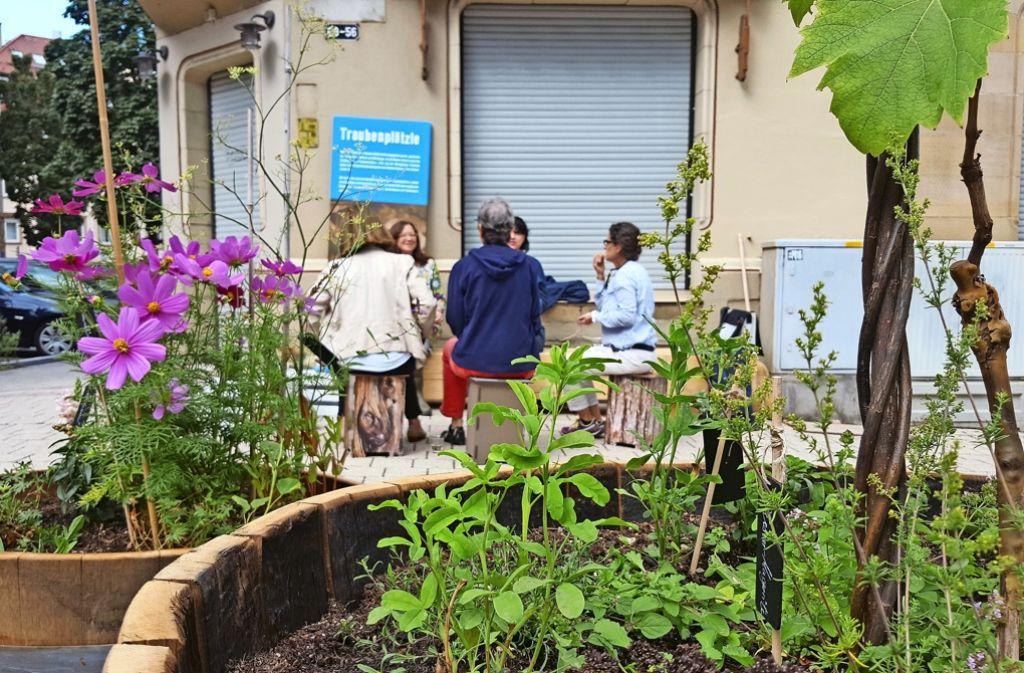 Die Nachbarschaft ist sich durch das gemeinsame Projekt näher gekommen. Foto: Kathrin Wesely