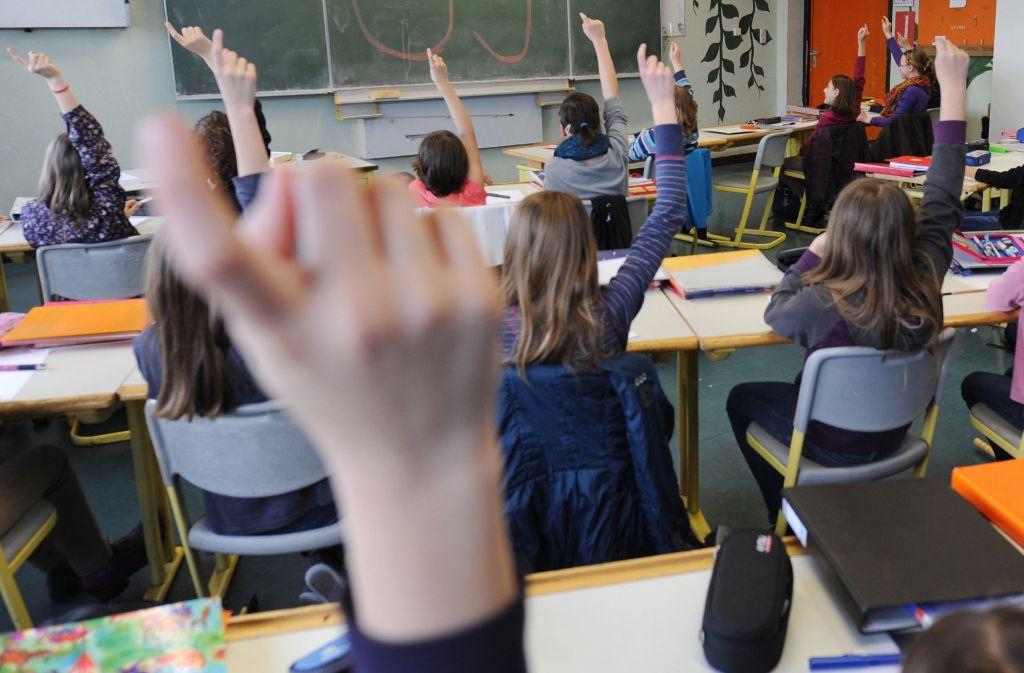 Der Trend zum Gymnasium hält an, Werkrealschulen haben indes zu kämpfen. Foto: dpa