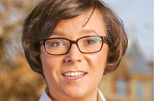 Kandidatin für die Wahl in Altbach