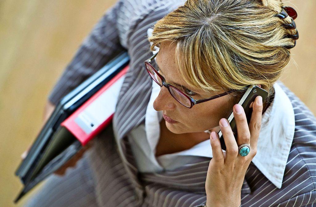 Flexible Arbeitszeiten helfen bei der  Vereinbarkeit   von  Arbeit und  Familie. Foto: dpa-Zentralbild