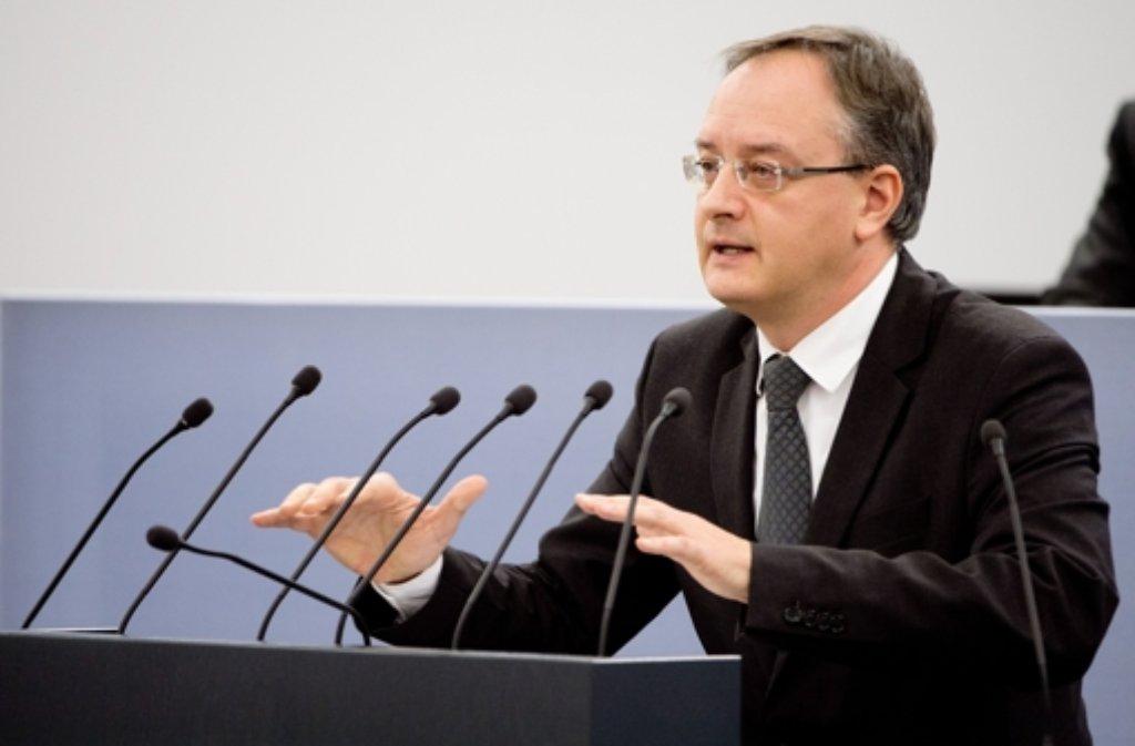 Kultusminister Andreas Stoch (SPD) Foto: dpa