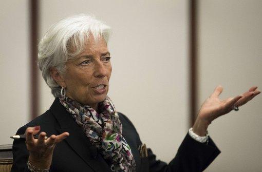 Christine Lagarde muss vor Gericht