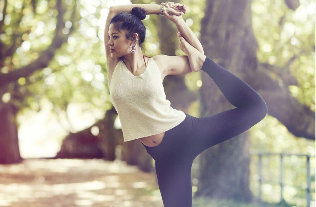 Als Yoga-Lehrerin verzichtet Jib  gerne auf den Doktortitel. Foto: privat