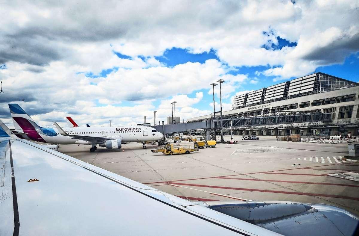 Der Stuttgarter Flughafen verzeichnet in diesem Sommer nur etwa ein Drittel der üblichen Fluggäste. Foto: Lichtgut//Ferdinando Iannone