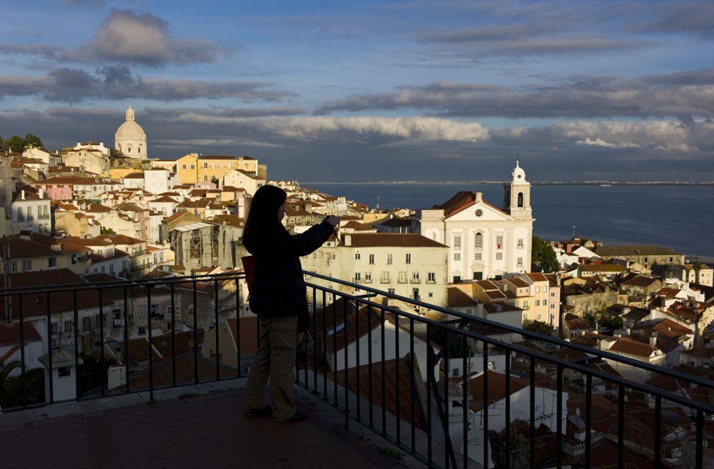 Im malerischen Lissabon findet an diesem Samstag das Finale des ESC statt. Foto: AP