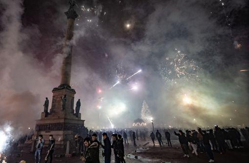 Feuerwerk sorgt für hohe Feinstaubwerte