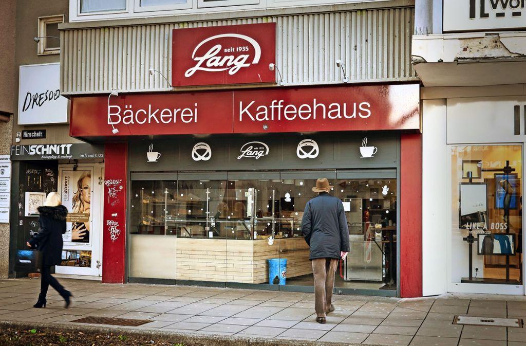 Aus und vorbei: Die ehemaligen Filialen von Lang – wie hier am Stuttgarter Marktplatz – sind geschlossen. Foto: Lichtgut/Achim Zweygarth