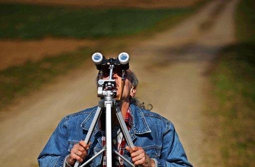 Freier Blick auf das Himmelsspektakel