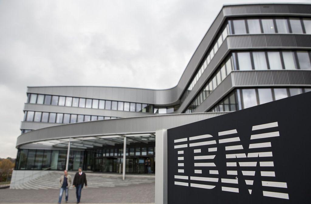 Verdi kritisiert die Kündigungen von IBM-Mitarbeitern. Foto: dpa