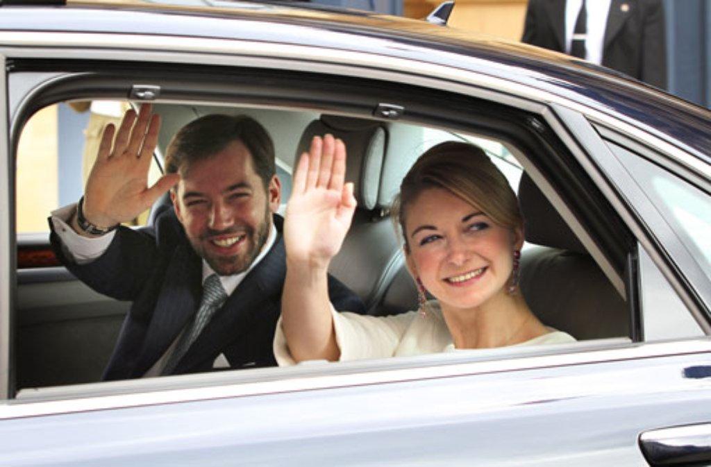 Die royale Hochzeit des Jahres findet am 20. Oktober in Luxemburg statt: Erbgroßherzog Guillaume heiratet die belgische Gräfin Stéphanie de Lannoy. Foto: dpa