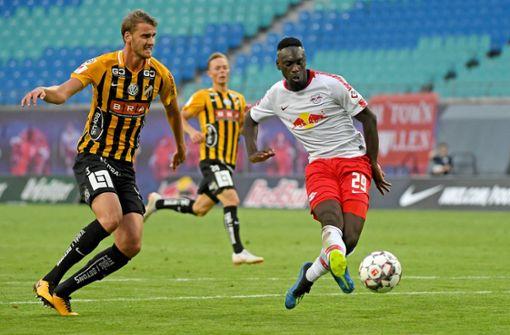 RB Leipzig startet mit 4:0-Sieg gegen BK Häcken