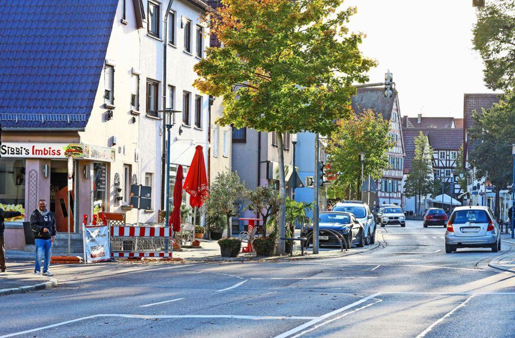 An der Ecke zu Siggi's Imbiss ist eine Veränderung geplant:  An der  Kreuzung Foto: factum/Simon Granville