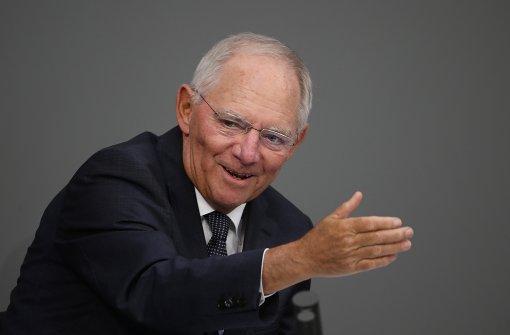 """Schäuble: """"Unser Land verändert sich"""""""