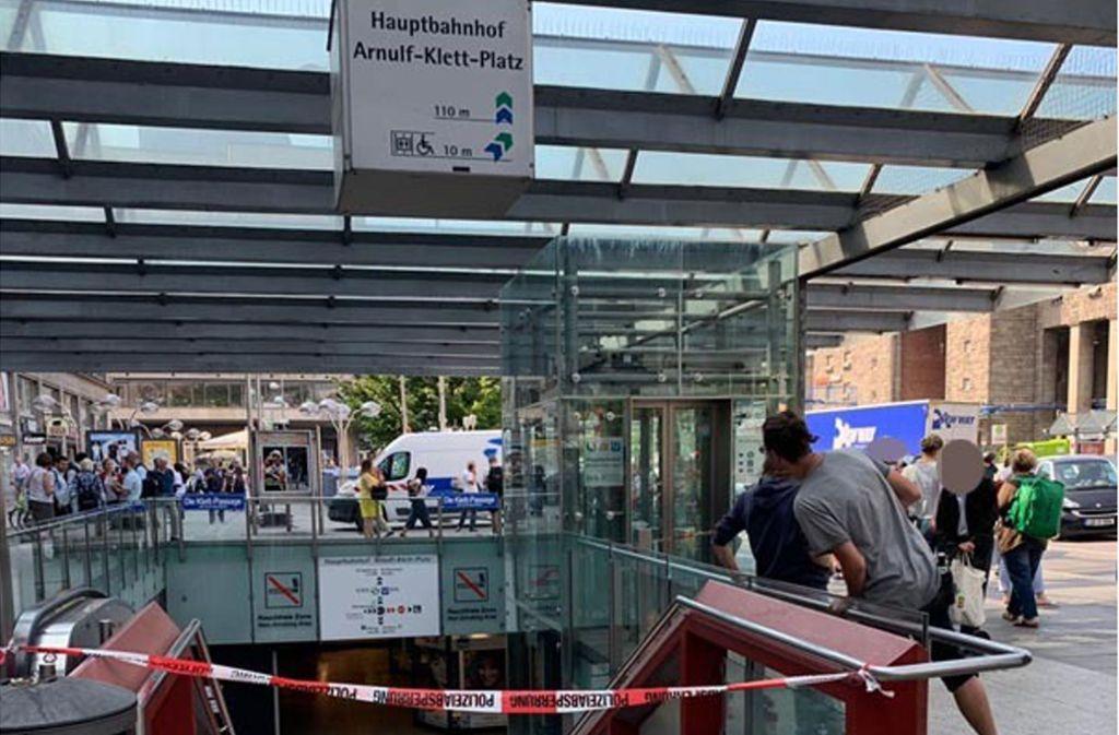 Der obere Teil der Klettpassage musste am Mittwochnachmittag wegen eines verdächtigen Gegenstandes gesperrt werden. (Symbolbild) Foto: Andreas Rosar