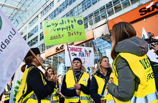 Lufthansa geht auf Streikende zu